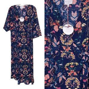 🆕 Hayden - Sz Lg Maxi Wrap Dress